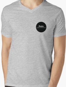 Pain is weakness leaving the body Mens V-Neck T-Shirt