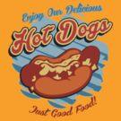 Delicious HotDogs by Vojin Stanic