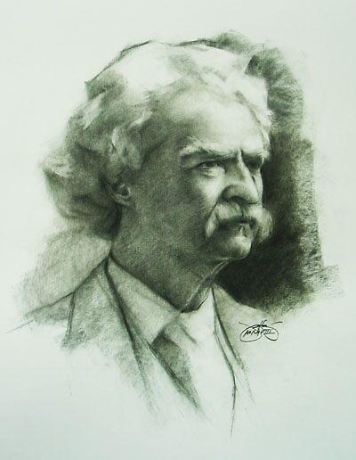 Marc Twain by Josef  Sy