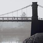 Jogger on the bridge. by naranzaria