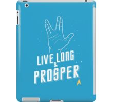 Live Long and Prosper - Leonard Nimoy - Star Trek - in Colours iPad Case/Skin
