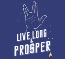 Live Long and Prosper - Leonard Nimoy - Star Trek - in Colours by aditmawar