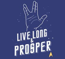 Live Long and Prosper - Leonard Nimoy - Star Trek - in Colours Unisex T-Shirt