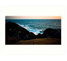 Ocean Clash Art Print