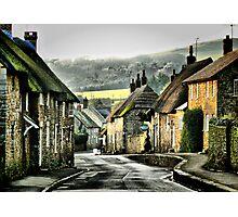 Abbotsbury, Down the Hill Photographic Print