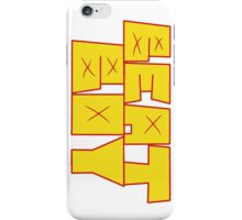 Hit that perfect beat, boy iPhone Case/Skin