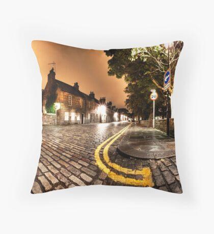 Old Aberdeen High Street Throw Pillow