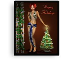 A Christmas Just For You Canvas Print