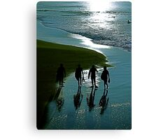 Surfer Blue Canvas Print
