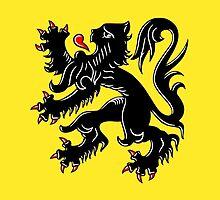 Flag of Flanders by abbeyz71