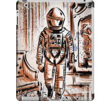 2001 A Space Odyssey Art Stanley Kubrick film movie director sci fi science fiction drawing illustration joe badon stars Christmas iPad Case/Skin