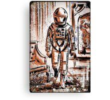2001 A Space Odyssey Art Stanley Kubrick film movie director sci fi science fiction drawing illustration joe badon stars Christmas Canvas Print