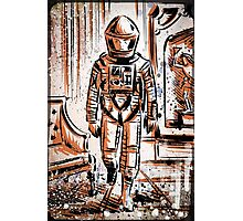 2001 A Space Odyssey Art Stanley Kubrick film movie director sci fi science fiction drawing illustration joe badon stars Christmas Photographic Print
