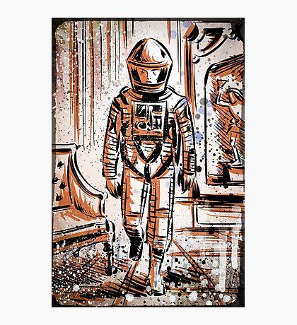 2001 A Space Odyssey Art Stanley Kubrick film movie director sci fi science fiction drawing illustration joe badon stars Christmas Photographic Print