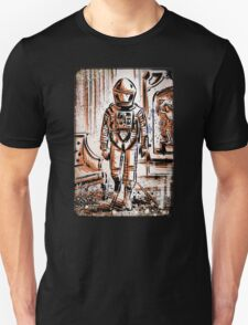 2001 A Space Odyssey Art Stanley Kubrick film movie director sci fi science fiction drawing illustration joe badon stars Christmas T-Shirt