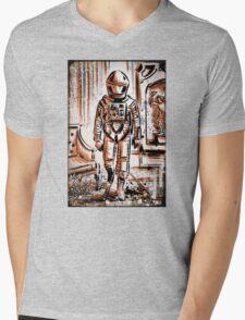 2001 A Space Odyssey Art Stanley Kubrick film movie director sci fi science fiction drawing illustration joe badon stars Christmas Mens V-Neck T-Shirt