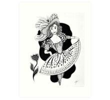 Gentille Dame, Gentle Dame Art Print