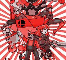 smash bros. RED by exogreyfox