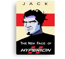 The New Face of Hyperion Canvas Print