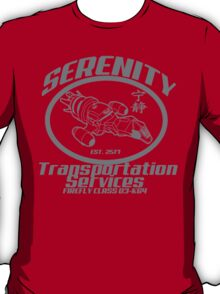 Serenity transportation services T-Shirt