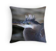 Wild Hair-do Throw Pillow