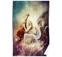 ISRAFEL - Engel der Musik - Angel of Music Poster