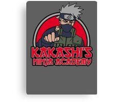 Ninja academy Canvas Print