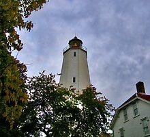 Sandy Hook Light House by Scott  Hudson