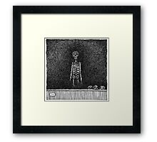 Late Guest Framed Print