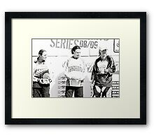Women's Elite Winners Framed Print