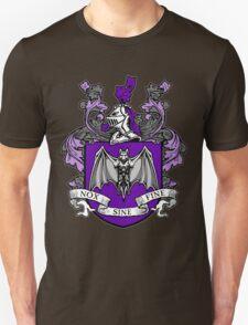 Bat Crest (Purple) Unisex T-Shirt