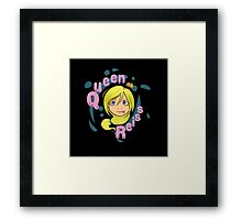Queen Reiss in Black Framed Print