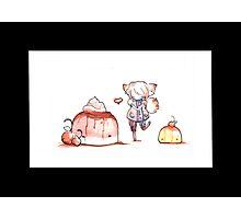 Pudding Love Photographic Print