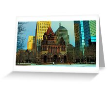 Welcome to Boston Greeting Card
