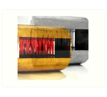 ribbon furniture Art Print
