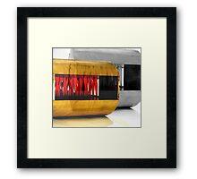 ribbon furniture Framed Print