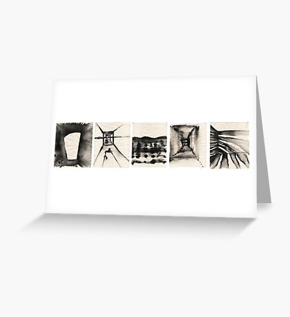 ink Greeting Card