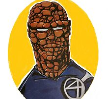 The Thing from Fantastic 4 by Bigmanarts