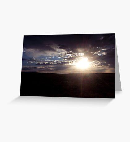 Nebraska Greeting Card