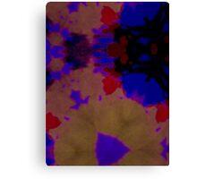 Flowing Dye Canvas Print