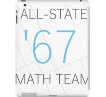 All-State Math Team iPad Case/Skin