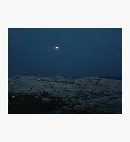 Neath the Silvery Moon Photographic Print