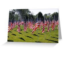 Support Our Troops! Past, present, and future! Greeting Card