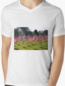 Support Our Troops! Past, present, and future! Mens V-Neck T-Shirt