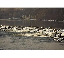 Cold Winter River Photographic Print