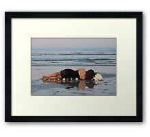 Child of the Sea Framed Print