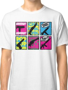 COMIC BOOK GUN SOUNDS Classic T-Shirt