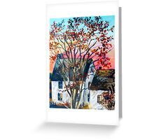 Home in The Country Greeting Card