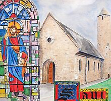 St Patrick's Saul by Josephine Mulholland