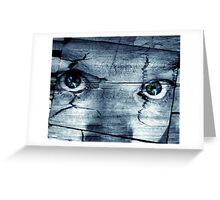 Believe Me Or Your Own Eyes? Greeting Card